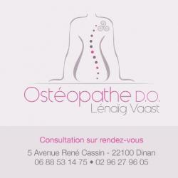 Ostéopathe VAAST Lénaïg Ostéopathe D.O. - 1 -