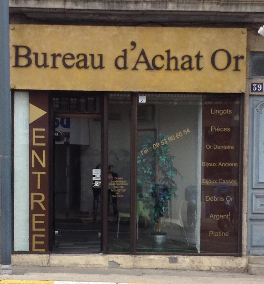 Bureau D'achat Or Béziers
