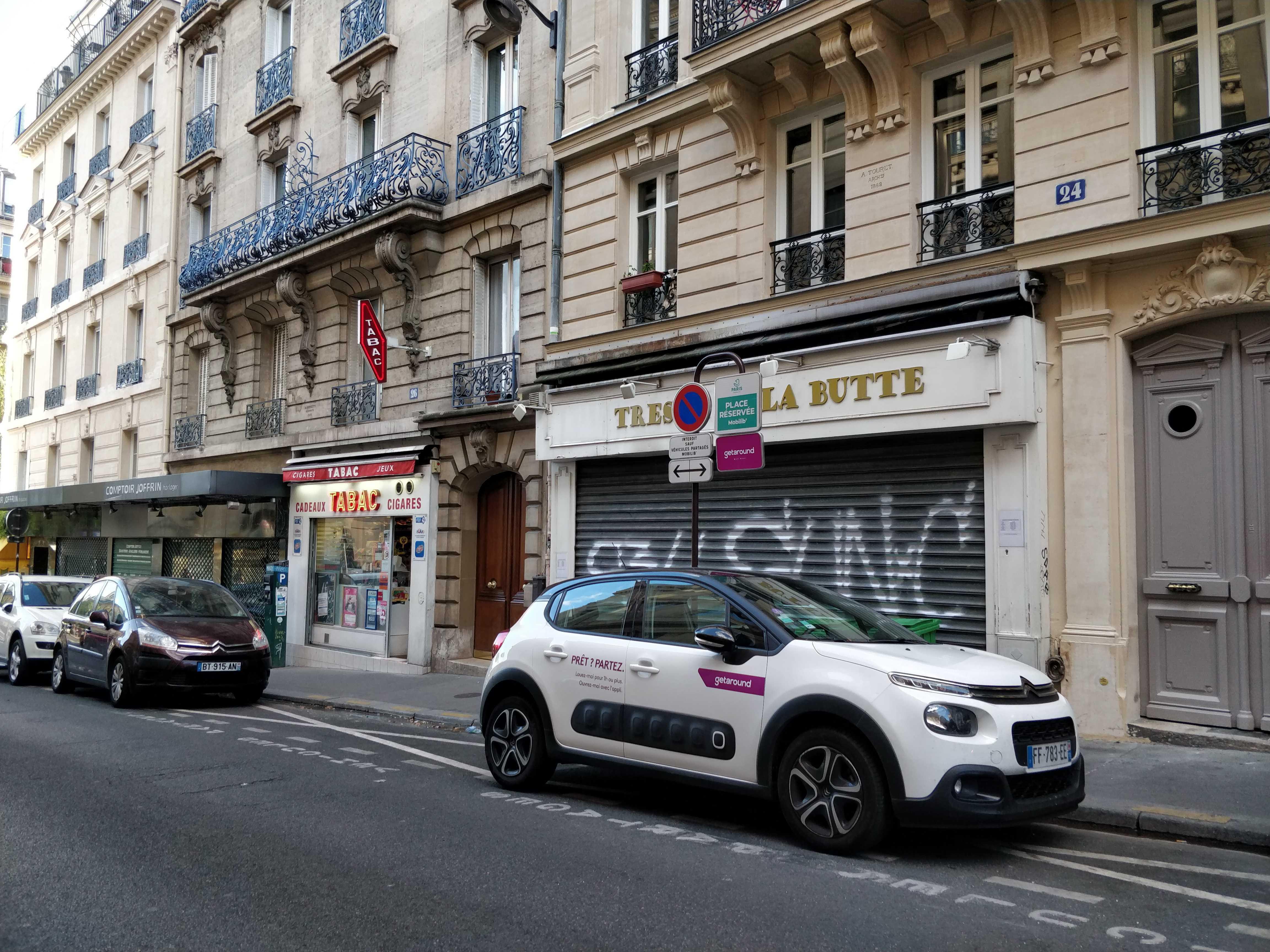 Getaround Jules Joffrin Paris