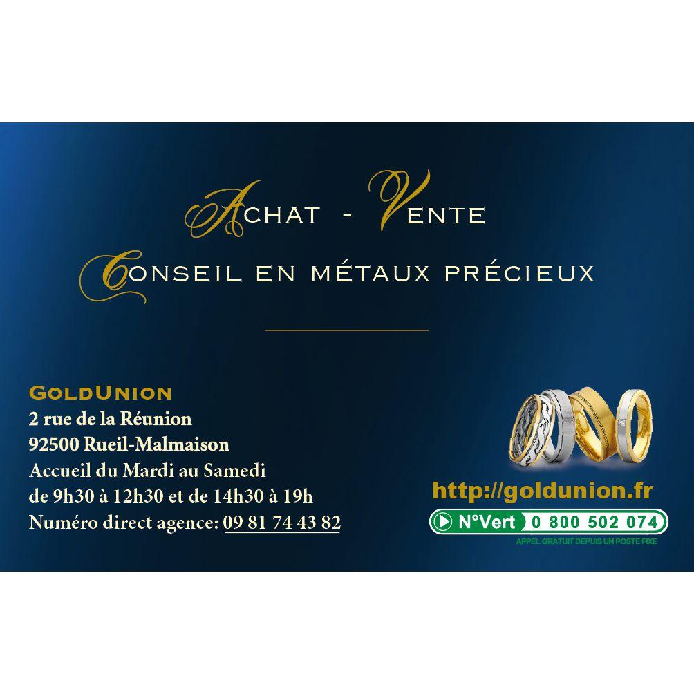 Gold Union Rueil Malmaison