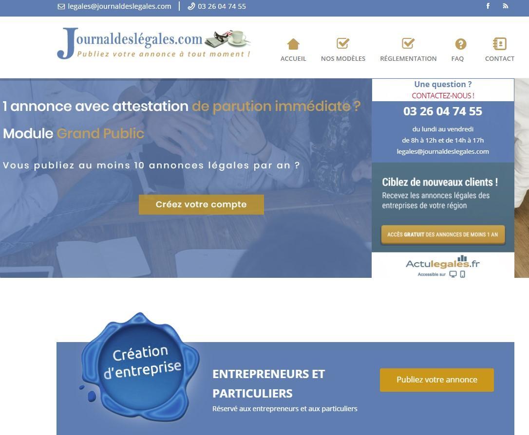 Journal Des Légales Reims