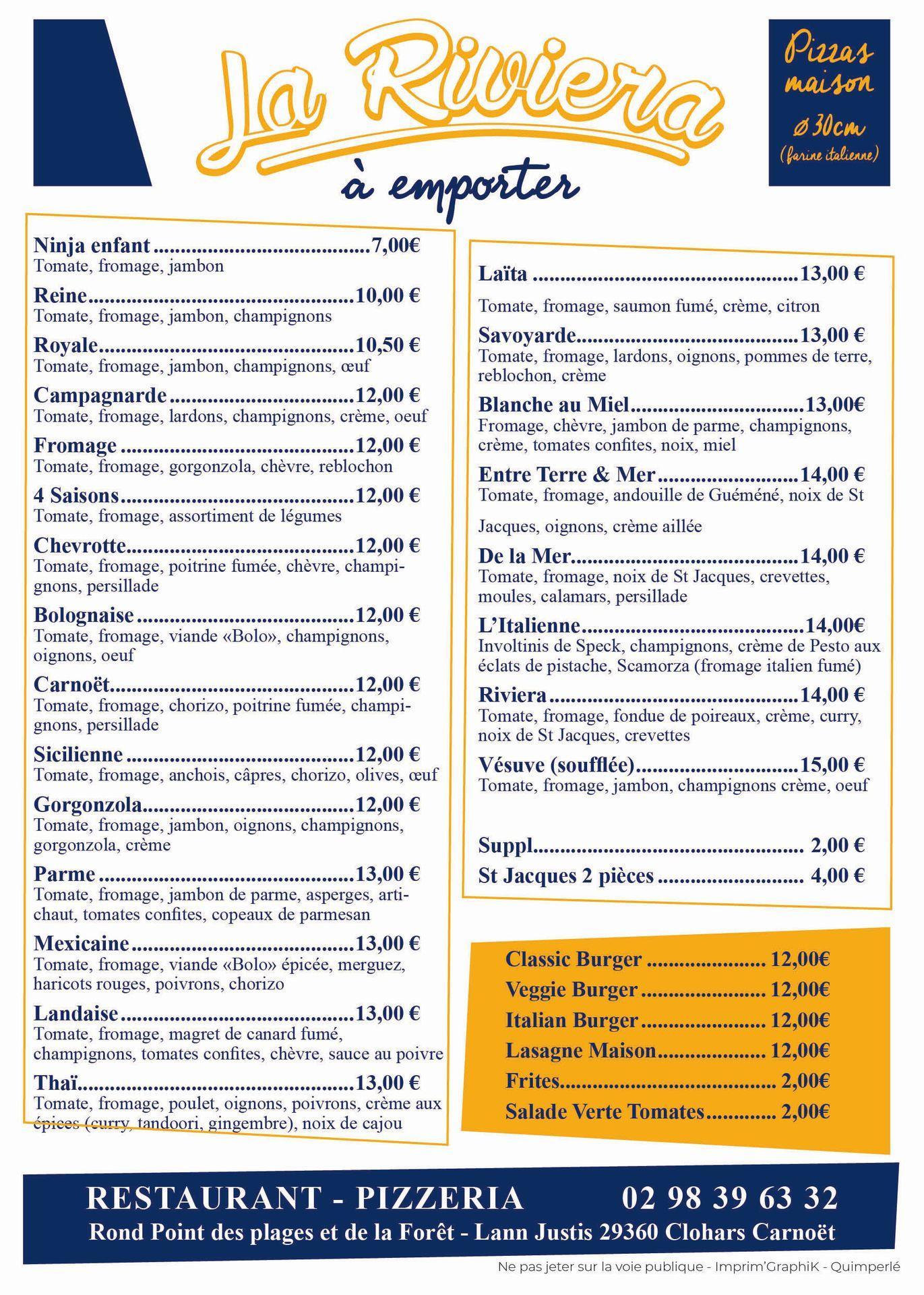 La Riviéra Clohars Carnoët