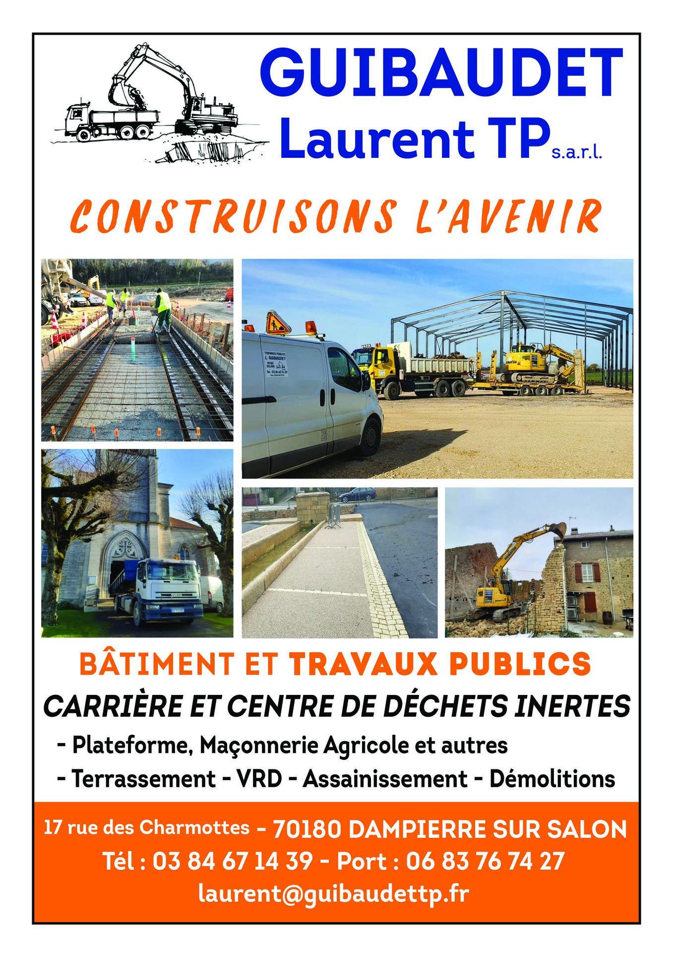Laurent Guibaudet T.p. Dampierre Sur Salon