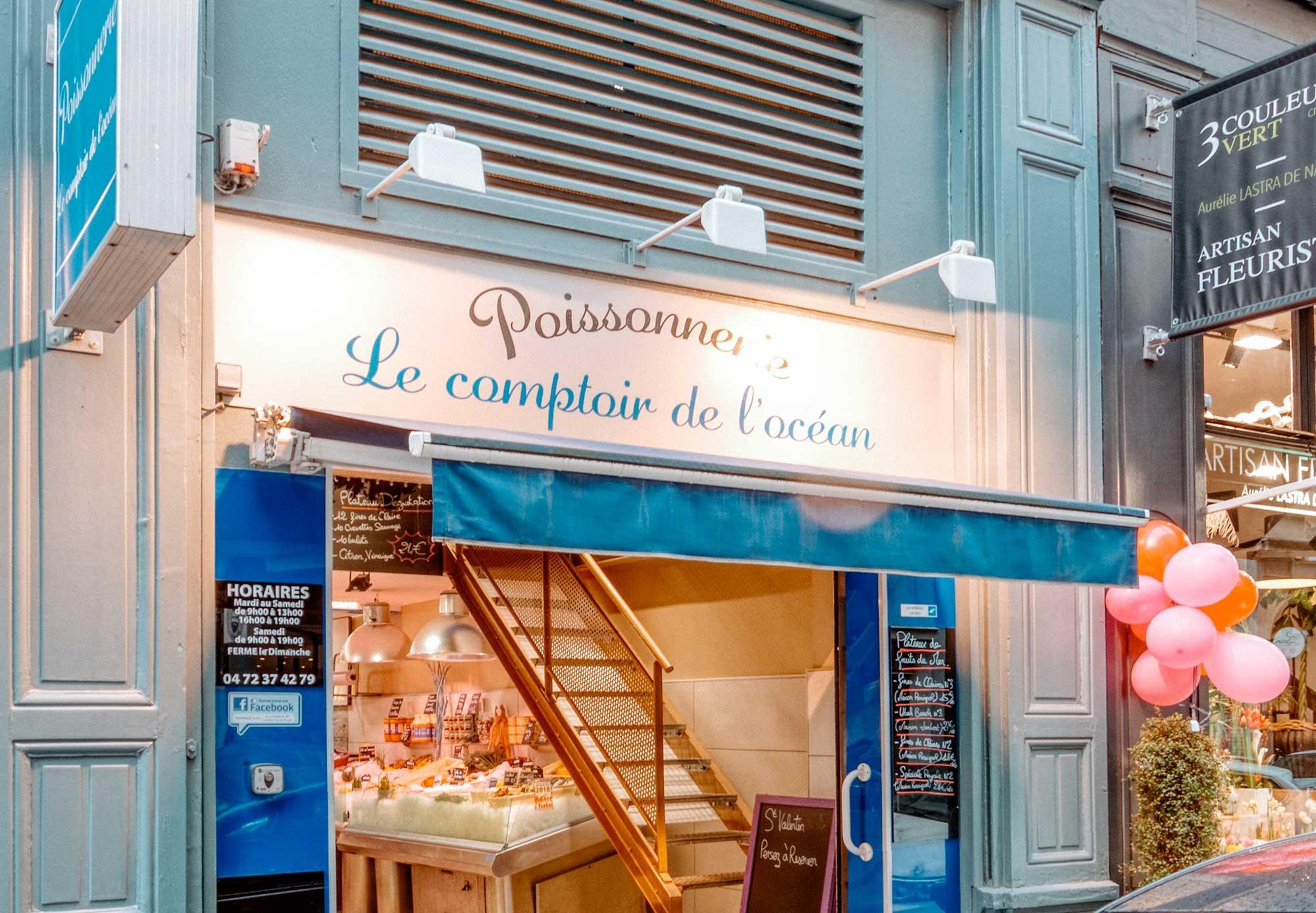 Le Comptoir De L'océan Lyon