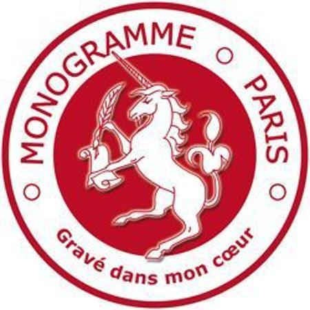 Monogramme Paris Gravure Paris