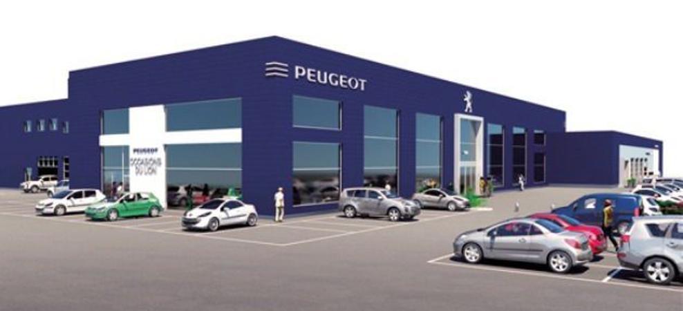 Peugeot Saint Pierre Eglise