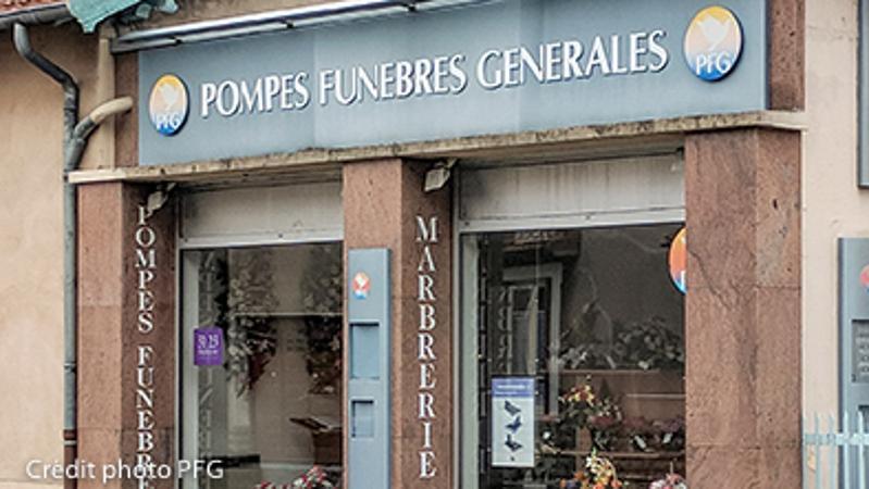 Pfg - Pompes Funèbres Générales Saint Symphorien D'ozon