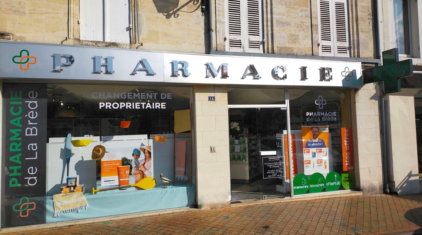 Pharmacie De La Brede La Brède