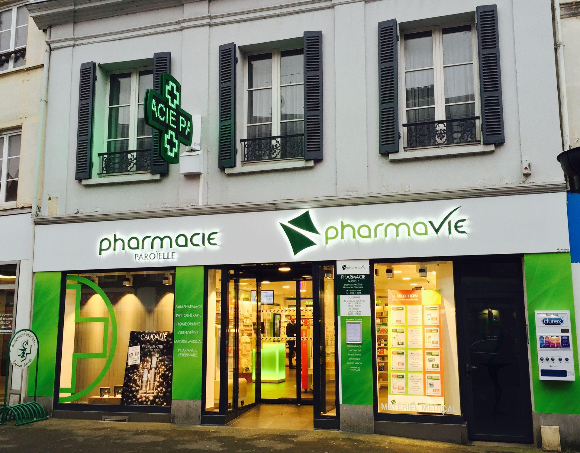 Pharmacie Paroïelle Abbeville