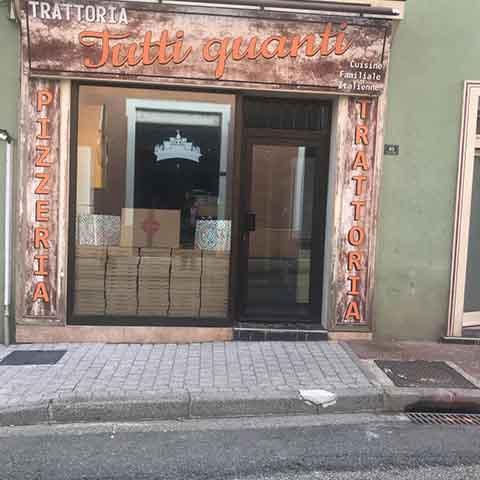 Pizzeria Trattoria & Tutti Quanti Montrond Les Bains