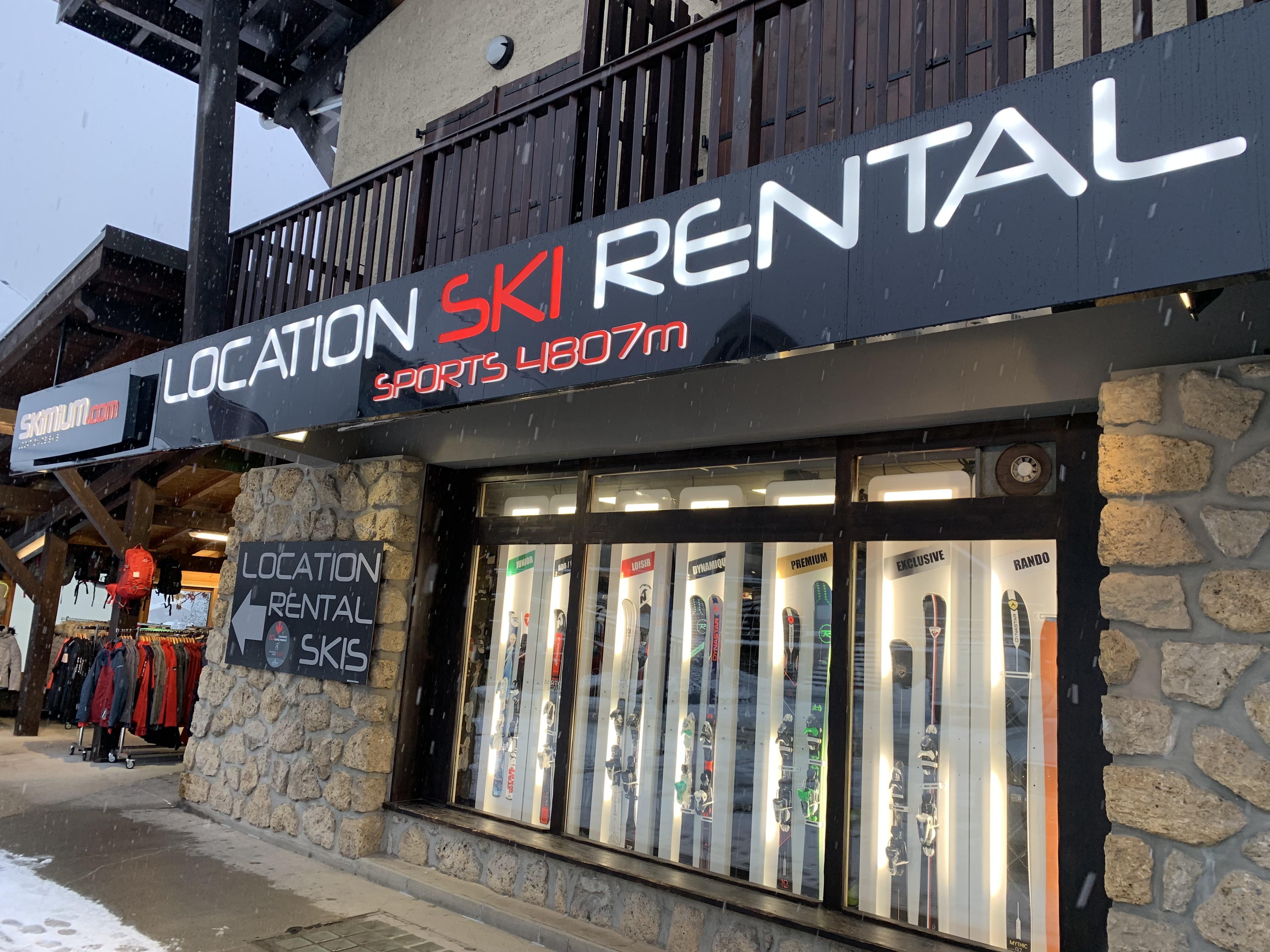 Skimium - Sports 4807m - Location De Ski Les Contamines Montjoie Les Contamines Montjoie
