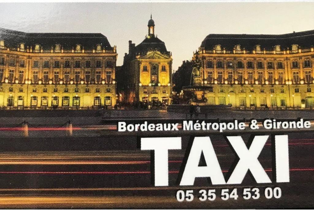 Taxis Bordeaux Métropole Et Gironde Bordeaux