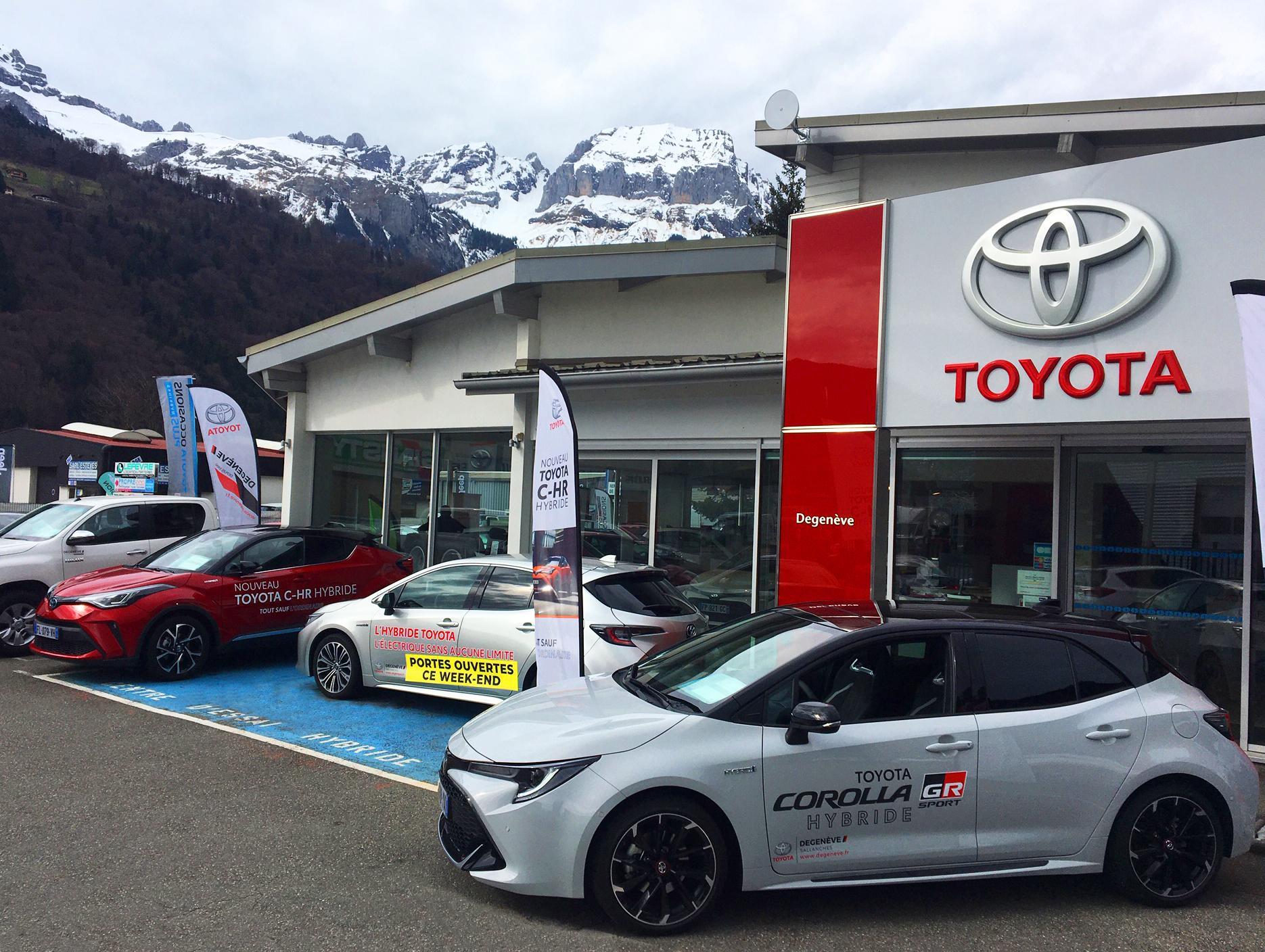 Toyota Degenève Sallanches      Sallanches